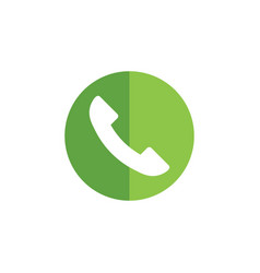 telephone icon graphic design template vector image