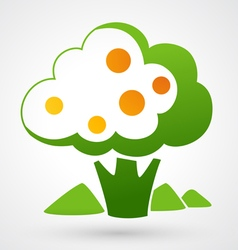 Tree icon vector