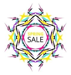 Vibrant Spring Sale Banner vector image