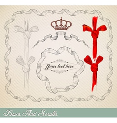 scrollsbs resize vector image vector image