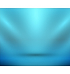 blank light room blue vector image