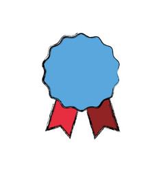 award ribbon empty vector image