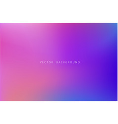 beautiful abstract gradient background vector image