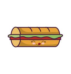 sandwich icon image vector image