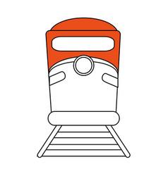 Train flat vector