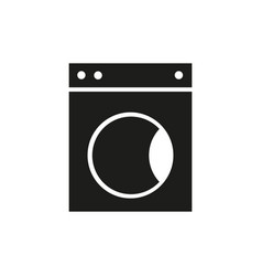 washer of icon vector image