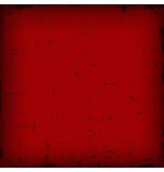 Red vintage editable grunge background vector image vector image