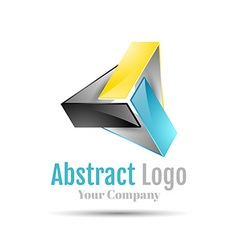 Triangle logo icon Template for your business vector image