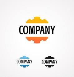 Logo for tech company vector image