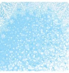 Snowflakes Backdrop vector image vector image