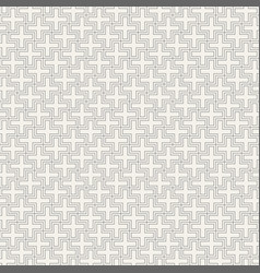 abstract seamless line pattern vector image