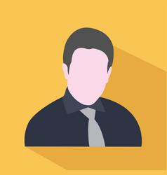 avatar icon man symbol avatar icon vector image