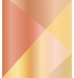 Beige orange geometric background vector image