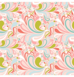 Colorful summer seamless pattern vector image