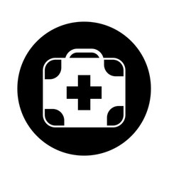 kit medical isolated icon vector image