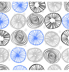 seamless pattern simple scandinavian style vector image