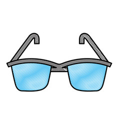 summer sun protection sunglasses vector image