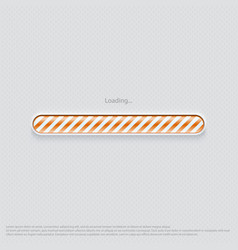 loading web design orange vector image vector image