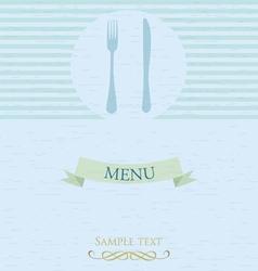 vintage label design template vector image