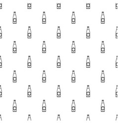 Bottle pattern seamless vector