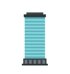 column icon flat style vector image