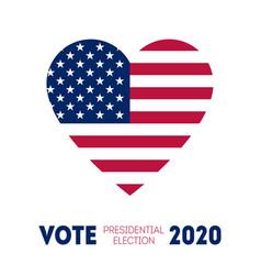 November 3 - presidential election 2020 in us vector