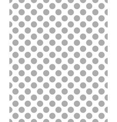 pattern gray dots vector image