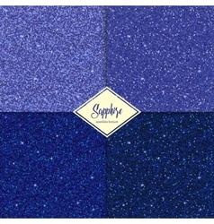 Set of glitter sapphire texture vector