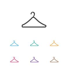 Trade symbol on suspender vector