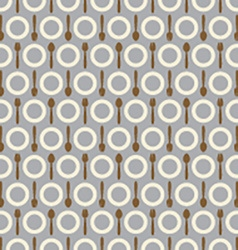 Utensil Pattern Background vector image