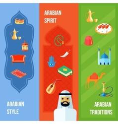 Arabic Culture Banner vector