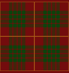 Clan cameron scottish tartan plaid vector