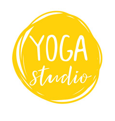 For an yoga studio vector