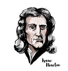 Isaac newton vector