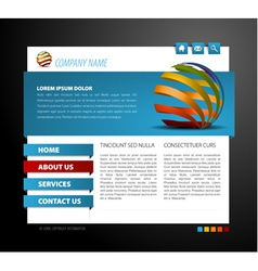 modern web vector image