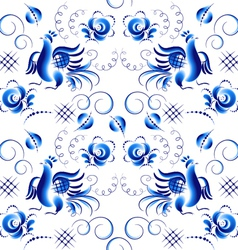Pattern in Ghzel style vector image