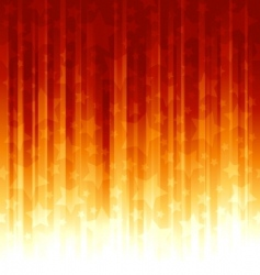 red orange stripes with overla vector image