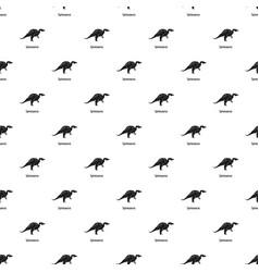 Spinosaurus pattern seamless vector