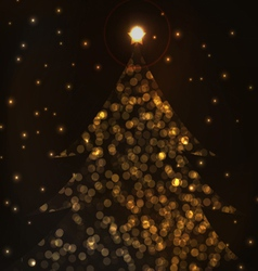 most beautiful christmas trees vector image