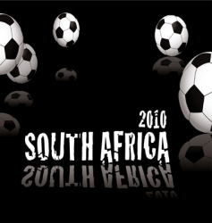 football South Africa vector image vector image