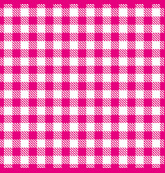 pink white seamless pattern traditional fabric vector image