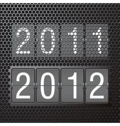 2012 title piece vector