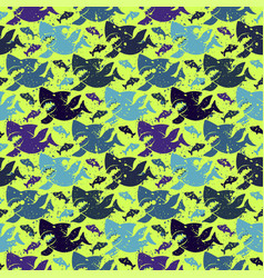 Abstract seamless pattern for girls boys vector