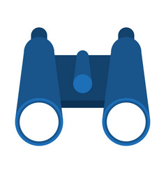 binoculars campng symbol isolated vector image