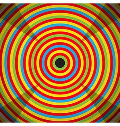 Colorful Target vector image