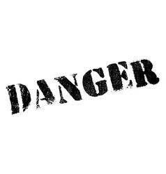 Danger stamp rubber grunge vector