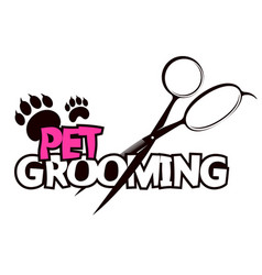 Pet grooming vector