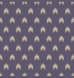 Seamless color pattern with arrows motif vector