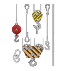 Set of slings vector