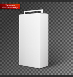 white product package box vector image